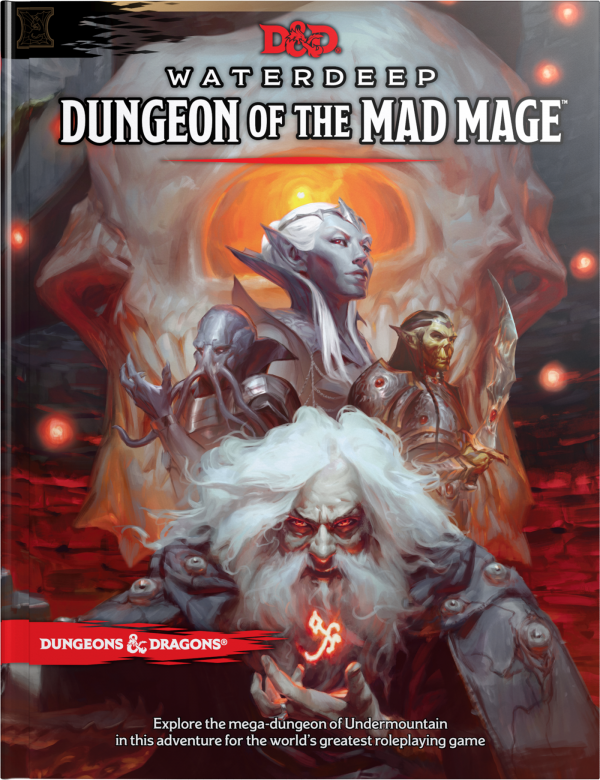 Waterdeep: Dungeon of the Made Mage cover