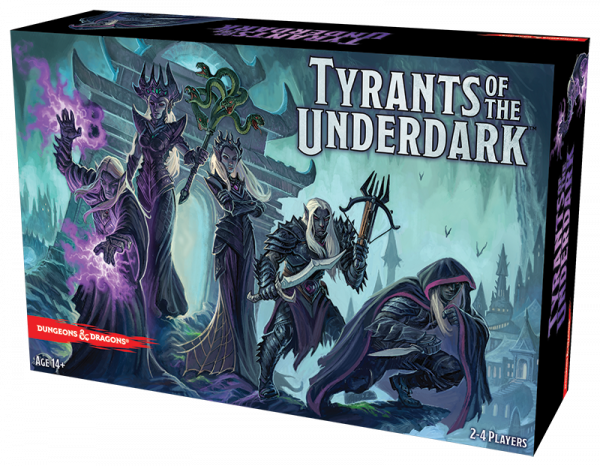 Tyrants of the Underdark board game box art
